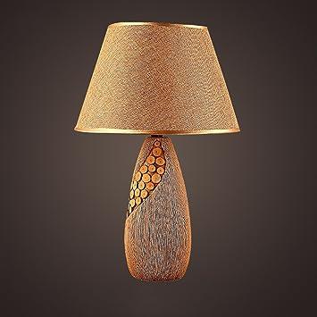 Lámpara creativa Cerámica Lámpara de mesa Café Restaurante ...
