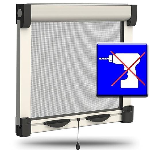 6 opinioni per Zanzariera avvolgibile per finestra e porta finestra ad espansione senza fori