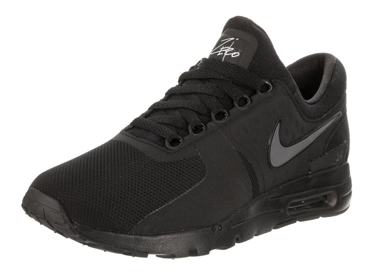 Nike Women's Air Max Zero Black/Black/Dark/Grey/White Running Shoe 6.5 Women US
