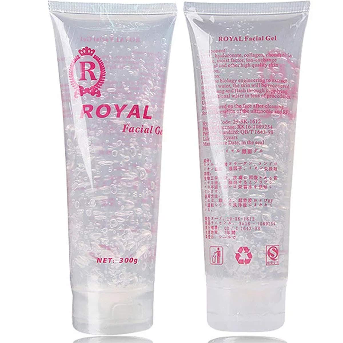 Cooling Gel for Women & Man Use with Permanent Laser Hair Removal Device System and RF Radio Frequency Facial Machine 300ML