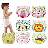 6 Pack Baby Girl Boy Toliet Pee Potty Training Pants Diaper Nappy Underwear XL