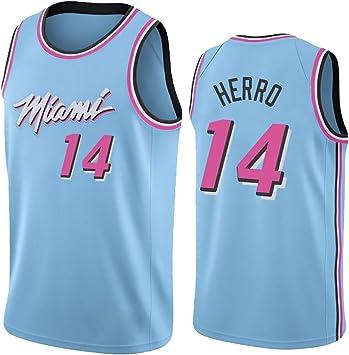 MAZOSPORT Camisetas De Baloncesto para Hombre Miami Heat Team New ...