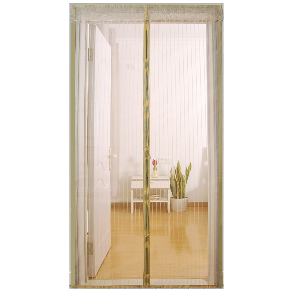 Screen Doors Magnetic Fly Screen Door, Keep Bugs Out Lets Fresh Air In. No More Mosquitoes or Insects. (Size : 90*210cm)