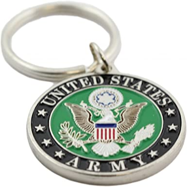 Luso Aviation US Army Embroidered Key Chain