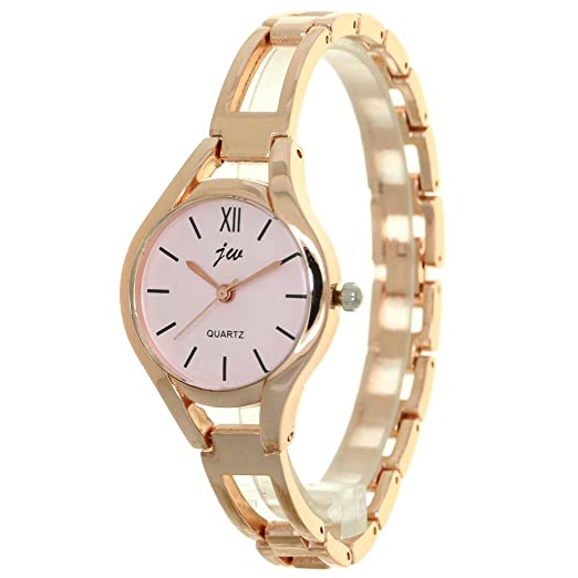 35d5f17a1e3 Fashion Women s Wrist Watches Golden Watchband Top Luxury Brand Ladies Jewelry  Bracelet Clock Female Gift Watches