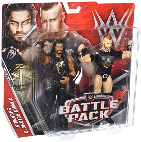 WWE Roman Reigns & Sheamus Action Figure (2 Pack) by WWE