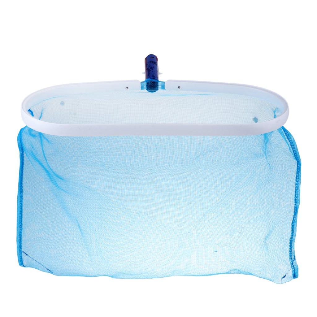 Homyl Swimming Pool Leaf Net Lightweight Swimming Pool Net Flat Leaf Skimmer Swimming Pool Cleaner Tools