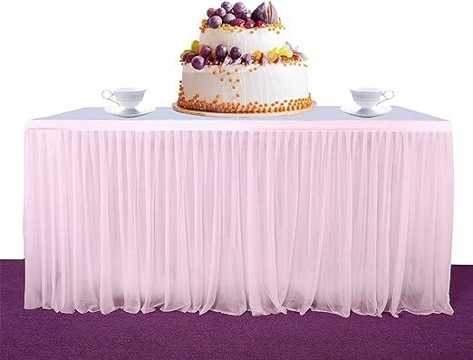 Amazon.com: Falda de tutú para mesa, para fiesta, baby ...