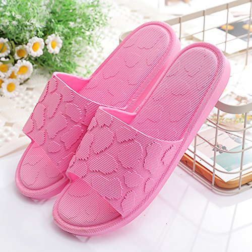 de la Verano zapatillas preciosa 36 en frío casa permanezca zapatillas un femenino antideslizante baño parejas rojo verano habitación tiene baño plástico de macho nbsp;Las Fankou 35 en X5PSRw4qEY