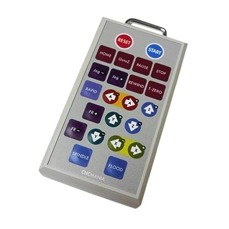 Mach3 Cnc Control Wireless JOG Pendant Controller Cm-140