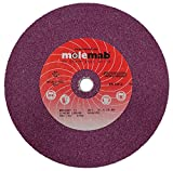 Stens 750-111 0.625'' Inside Diameter x 8'' Outside Diameter x 1'' Thickness Blade Grinding Wheel, 3295 rpm, 36 Grit