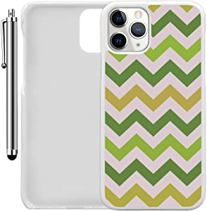 "Custom Case Compatible with iPhone 11 Pro (5.8"") (Colorful Printed Patterned) Plastic White Cover Ultra Slim 