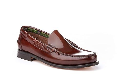 Mocasines Hombre de Piel. Zapatos Castellanos cómodos para Hombre. Disponibles Desde la Talla 40