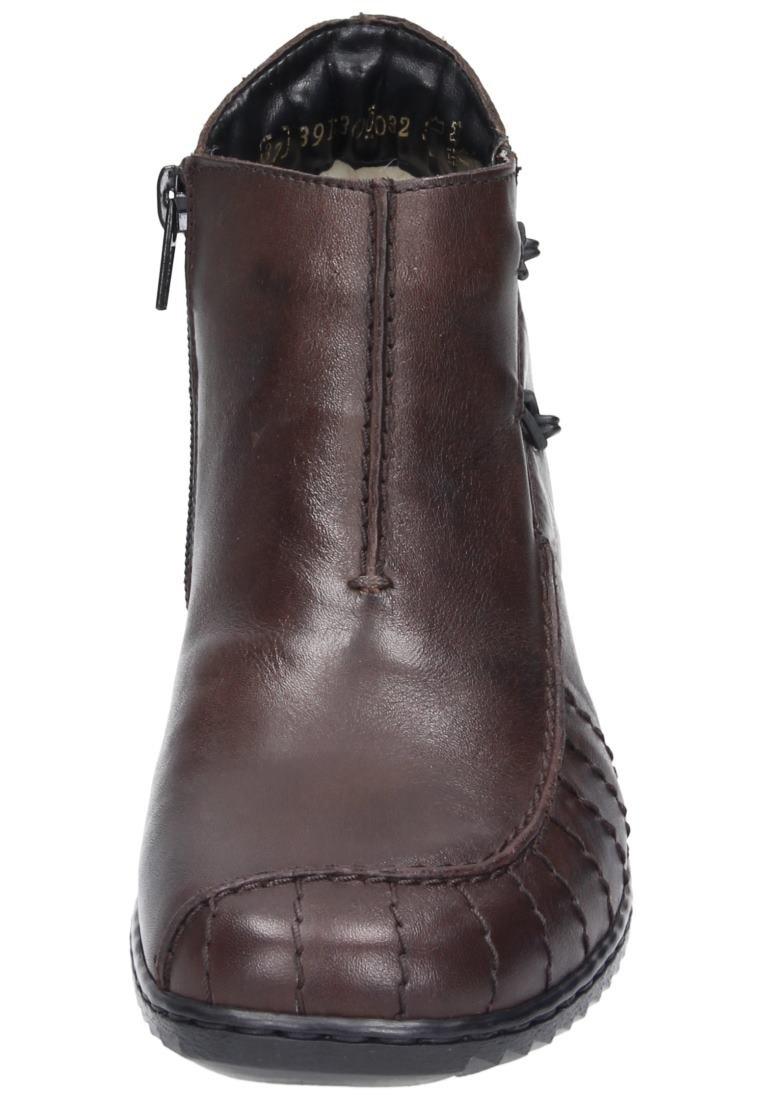 Rieker Girls' A Wter Boot I Will Pass Dark Brown Geprägtes Leder Uniform Dress Shoes 42 by Rieker (Image #4)