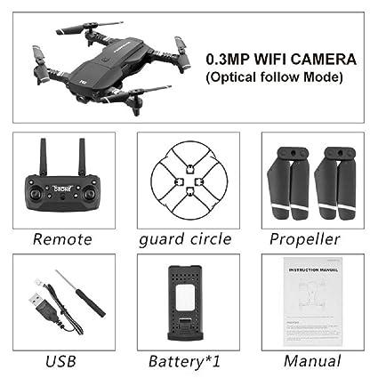 Drone con cámara 4K HD, Mini Droni, RC Quadcopter UAV Drone FPV ...