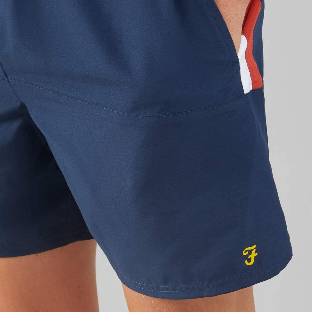 FARAH Sport Docherty Swim Short Yale Navy