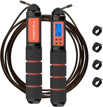 Speed Skipping Rope Adjustable Running Cable Fitness Exercise Crossfit Boxing