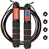 multifun Jump Rope, Speed Skipping Rope with Calorie Counter, Adjustable Digital Counting Jump Rope with Ball Bearings…