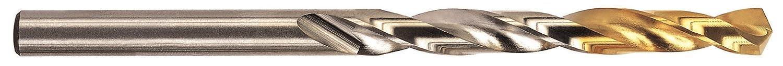 TiN Finish O Size YG-1 D2GP High Speed Steel Gold-P Jobber Drill Bit 135 Degree Pack of 10 Straight Shank Slow Spiral 5//16 Diameter x 4-1//2 Length