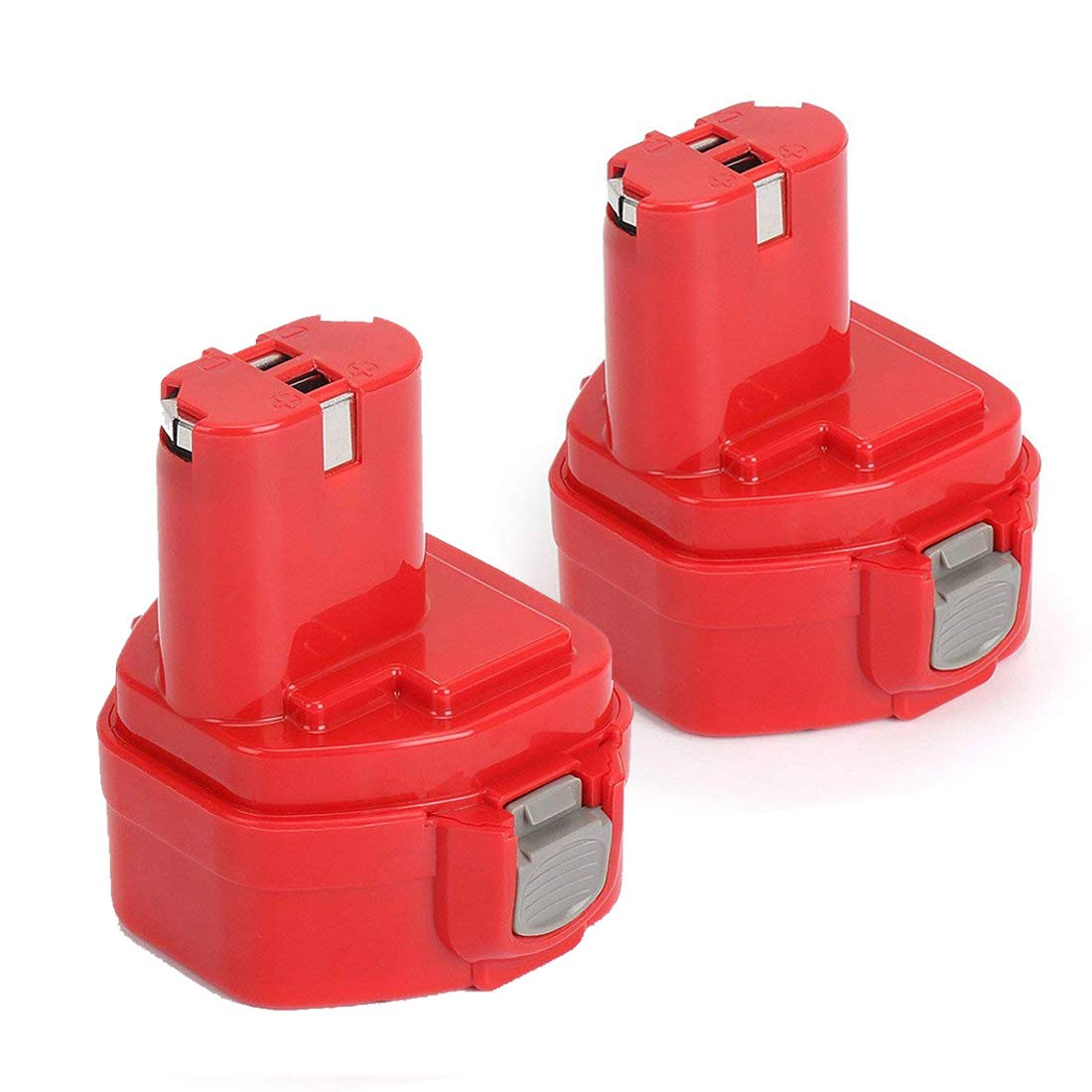 REEXBON 1222 12V 2.0Ah Battery Replacement for Makita 1220 1222 1233 1234 1235 192598-2 PA12 12-Volt NiCd Cordless Power Tools Battery