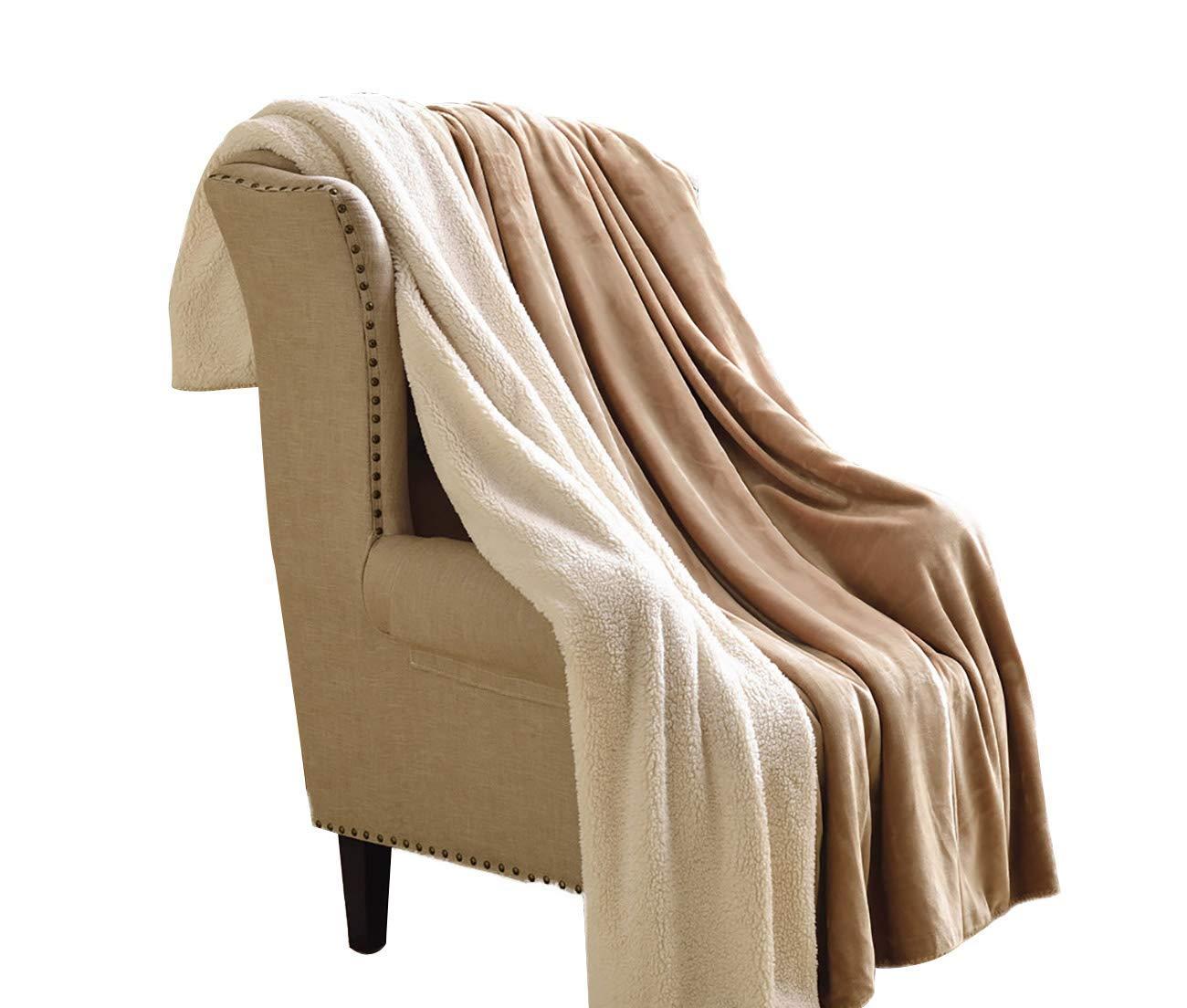 フェイクファー毛布フェイクファー、二重厚く暖かいウール毛布冬毛布コーラルブランケットキルトシングルダブル毛布(色:A、サイズ:200× 230 cm) B07QPM22NZ