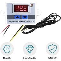 Moliies Controlador de Temperatura LED Digital Termostato Interruptor