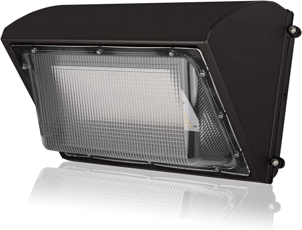 16200Lm LED Wall Pack Lights, 120W LED Security Flood Light, DLC UL Listed, 500W MH HPS Replacement, 5000K Commercial Industrial Outdoor LED Lighting Fixture for Warehouse, Dock, Entrance – IP65