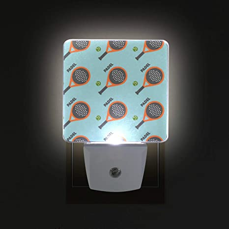 Jojogood Padel Tennis Plug in Dusk to Dawn Light Sensor LED ...