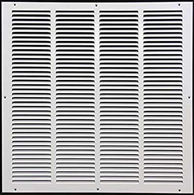 """24""""w X 24""""h Steel Return Air Grilles - Sidewall and Ceiling - HVAC DUCT COVER - [Outer Dimensions: 25.75""""w X 25.75""""h]"""
