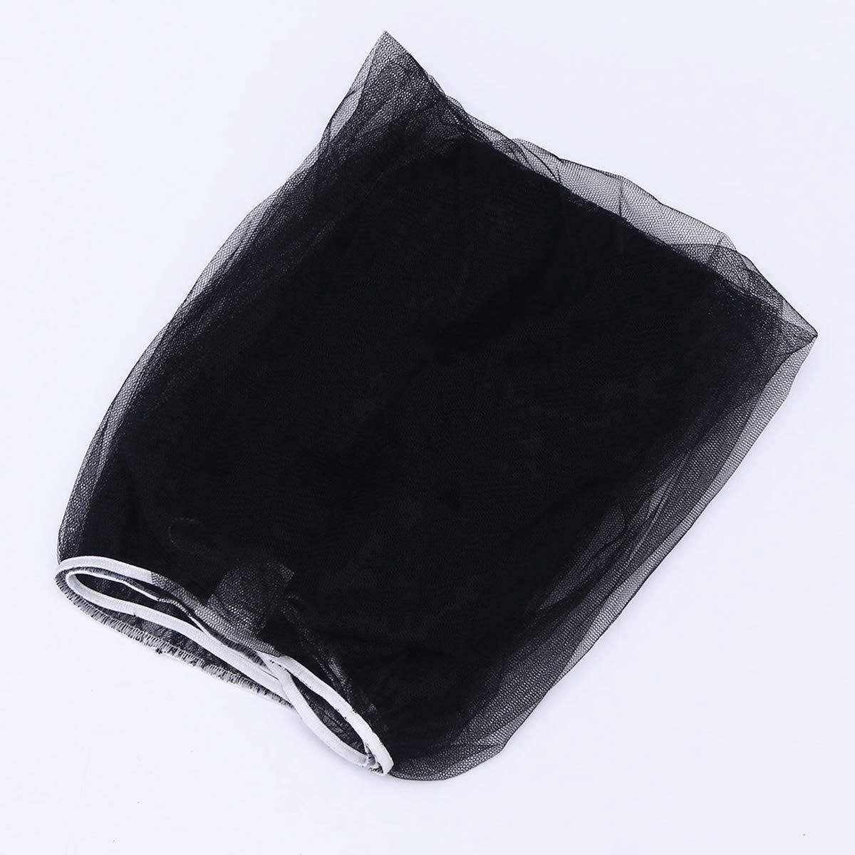 Toyvian Couvertures moustiquaire poussette en forme de d/ôme prot/ège des insectes noir