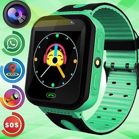 Amazon.com: Kids Smart Watch Phone GPS Tracker Gadget HD ...