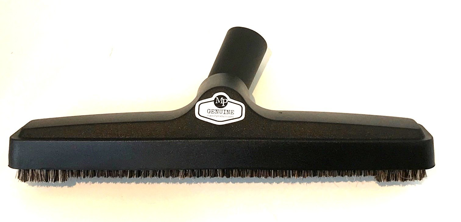 Genuine MP Soft Touch Deluxe Vacuum Cleaner or Central Vac Hardwood and Bare Floor or Wall Brush. Natural Delicate Horse Hair Bristles for thorough Cleaning. (12 Inch) by Maresh Products (Image #4)