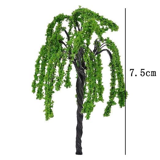 Garten-Statue Mini-Baum-Fee Gartenzubeh/ör Miniatur-Schmuck DIY Dekoration Haus 4 St/ück