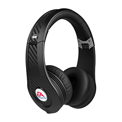 Amazon.com  Monster EA SPORTS MVP Carbon On-Ear Headphones (Black ... 06f7e0099d