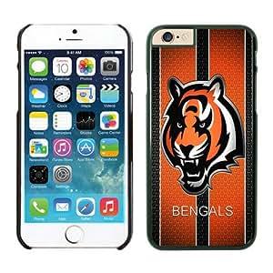 Cincinnati Bengals Case For iPhone 6 Black 4.7 inches