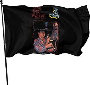 JaoStep Stevie Ray Vaughan Live Fashion Garden Flag New Welcome Banner Home Decorative Party Flags One Size
