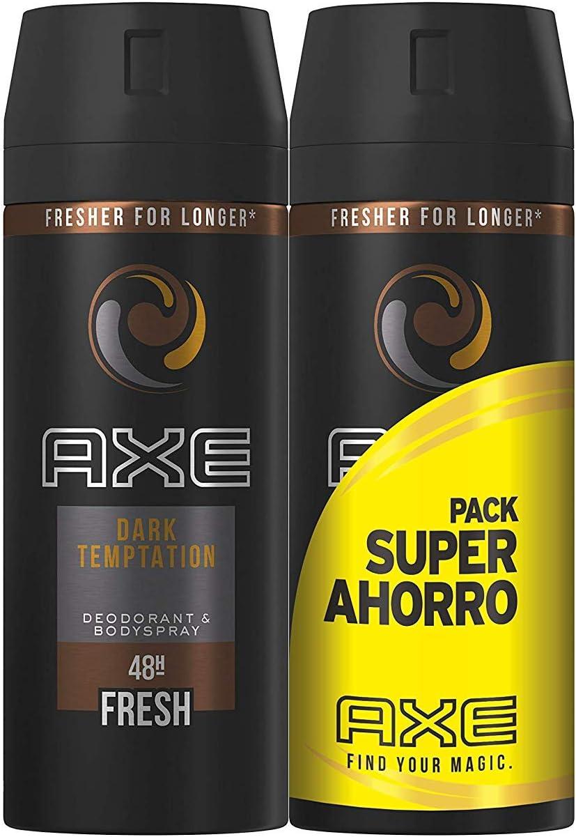 Axe Pack Duplo Ahorro Desodorante Dark Temptation - 2 Unidades ...