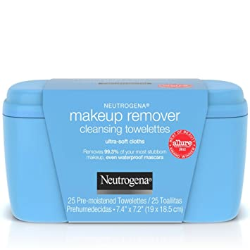 Neutrogena Makeup Remover Cleansing Towelettes, 25 Each (Pack of 5)