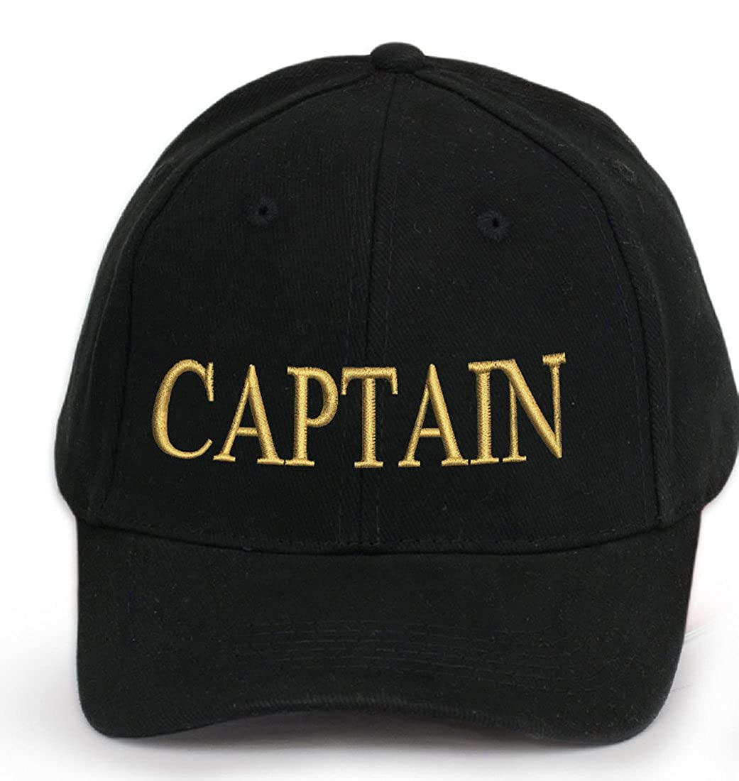 4sold Men Women 100/% Cotton Ancient Mariner Captain Cabin Boy Crew First Mate Yachting Baseball Cap Inscription Lettering Black Gold