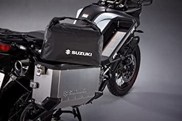 Suzuki Genuine V-Strom 650A//XT 2012-2016 Alu Side Case Bag Set 990D0-ALSCB-BG0