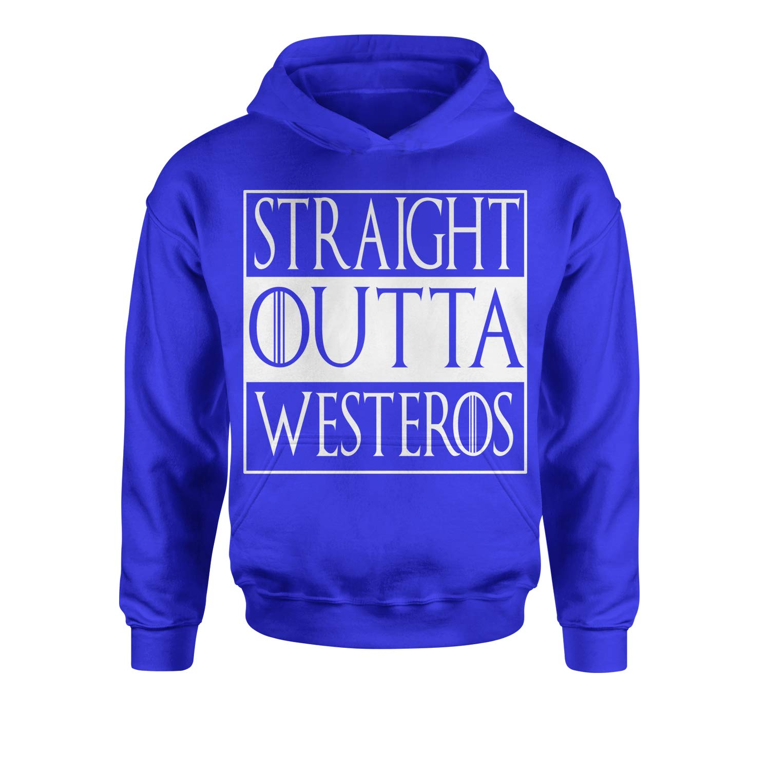 Expression Tees Straight Outta Westeros Youth-Sized Hoodie