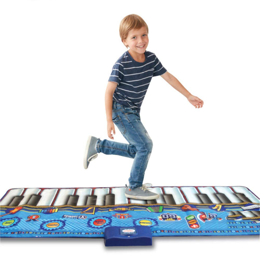 QXMEI Dance Blanket Children's Dance Blanket Stepped Piano Rug Children's Musical Instrument Ottomans Handmade Toys Product Size: 70.9inchs 29.1inchs by QXMEI (Image #1)