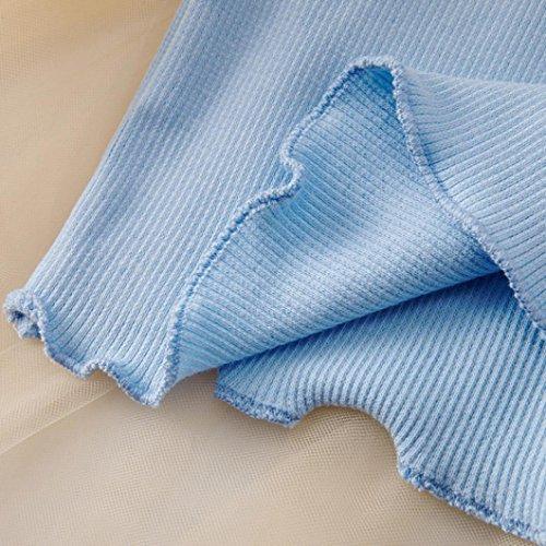 b38397e6c0 Gotd Infant Toddler Baby Girl Long Sleeve Cotton Tops Tutu Skirt Party  Princess Dress
