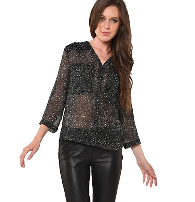Kaporal Jeans - Blusa SALLY Kaporal Jeans - XS, Negro