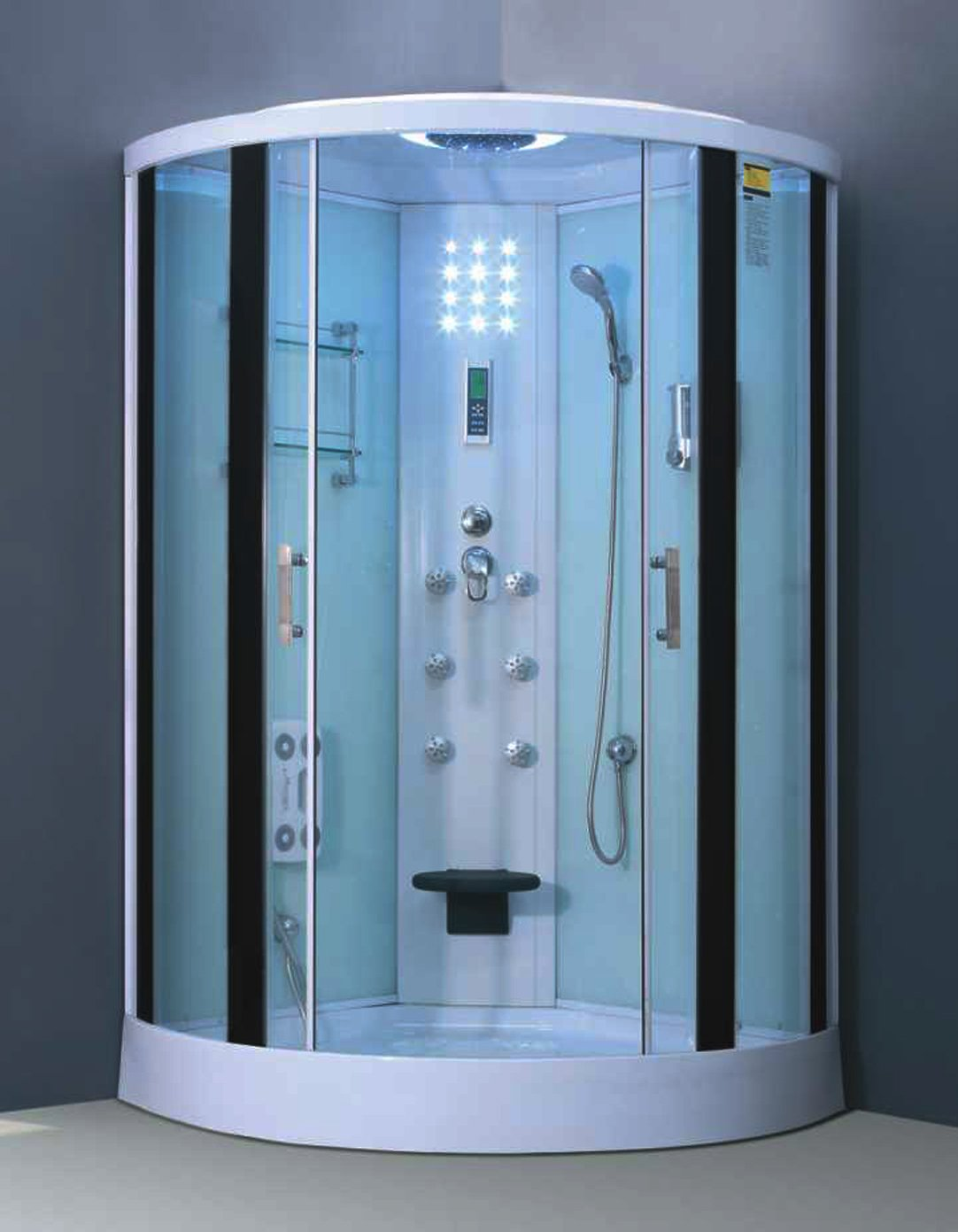 Luxury European Style Shower Enclosure S-4848 - - Amazon.com