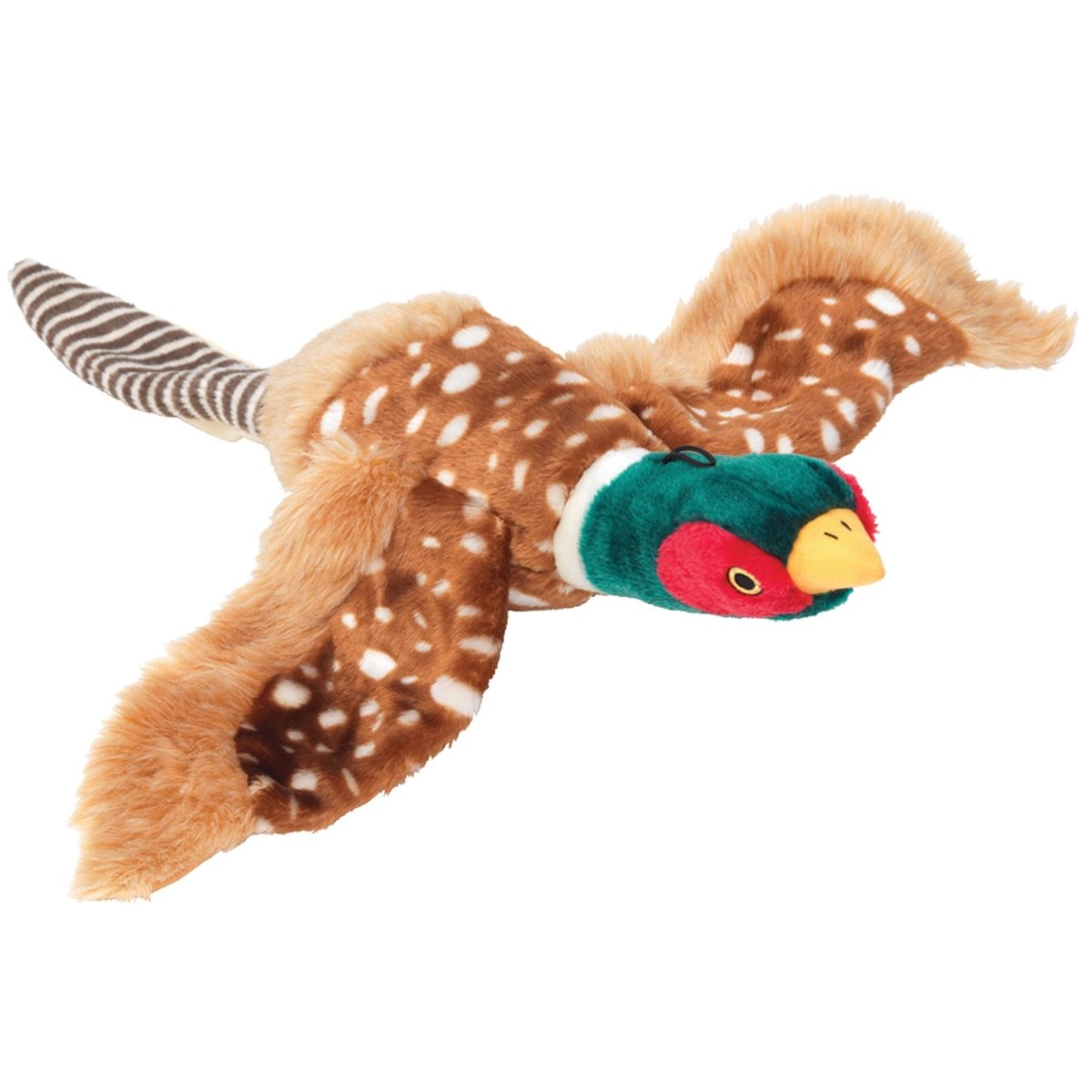 House of Paws Pheasant Dog Toy, Extra Large, Multi-Colored