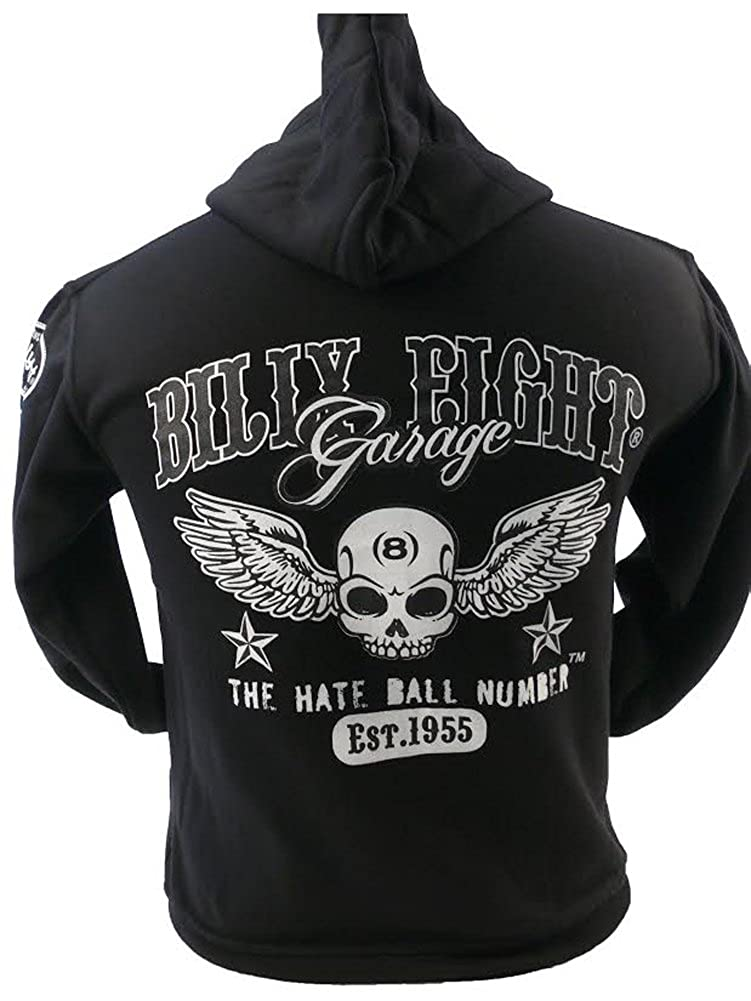 Mens Hoodie Official Merchandise Billy Eight Hate Ball