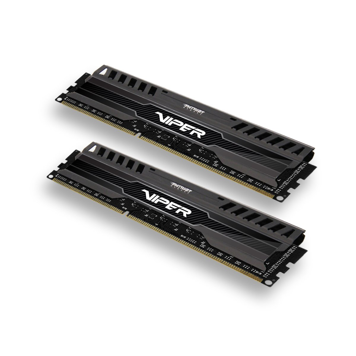 Patriot Viper 3 Series, Black Mamba, DDR3 8GB (2 x 4GB) 1600MHz Dual Channel Kit (PV38G160C9K)