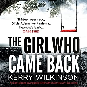 The Girl Who Came Back Audiobook