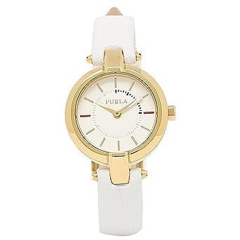 b7c23502b441 [フルラ] 腕時計 レディース FURLA R4251106502 866686 イエローゴールド/ホワイト [並行輸入品